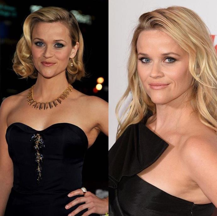"Oscar winner Reese Witherspoon [shared this snap on Instagram](https://www.nowtolove.com.au/celebrity/tv/big-little-lies-season-2-53394|target=""_blank"") saying, ""Time sure does fly when you are having fun!!"" Umm has she aged a day?? *(Image: Instagram @reesewitherspoon)*"