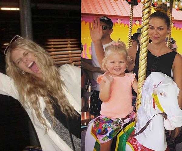 "*Bachelor In Paradise*'s Tara Pavlovic shared one photo of herself on a carousel in 2009 versus 2019 Tara. ""Such a tame teenager I was. If I was that wild on a carousel, you can only imagine...#SozMum 😬"" she penned."