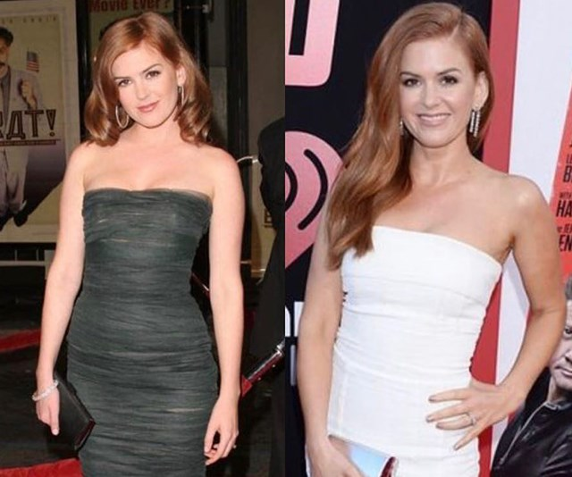 """We reckon Isla Fisher looks the same as she did in 2009 but according to her, she was """"stretchmark/spanx/diaper free a decade ago."""" *(Image: Instagram @islafisher)*"""