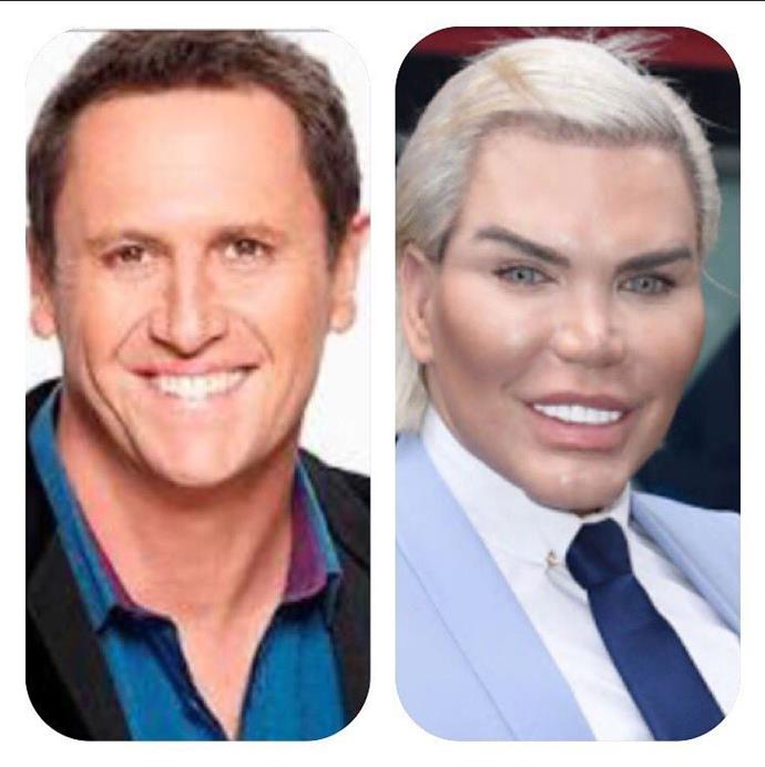 Trust *Morning Show* host Larry Emdur to give us a fright with this Instagram! *(Image: Instagram @larryemdur)*