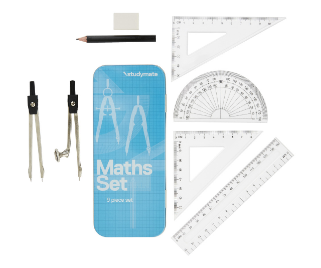 """Flashbacks! How exciting was your new Studymate Maths Set Tin?  *Image: [Officeworks.](https://www.officeworks.com.au