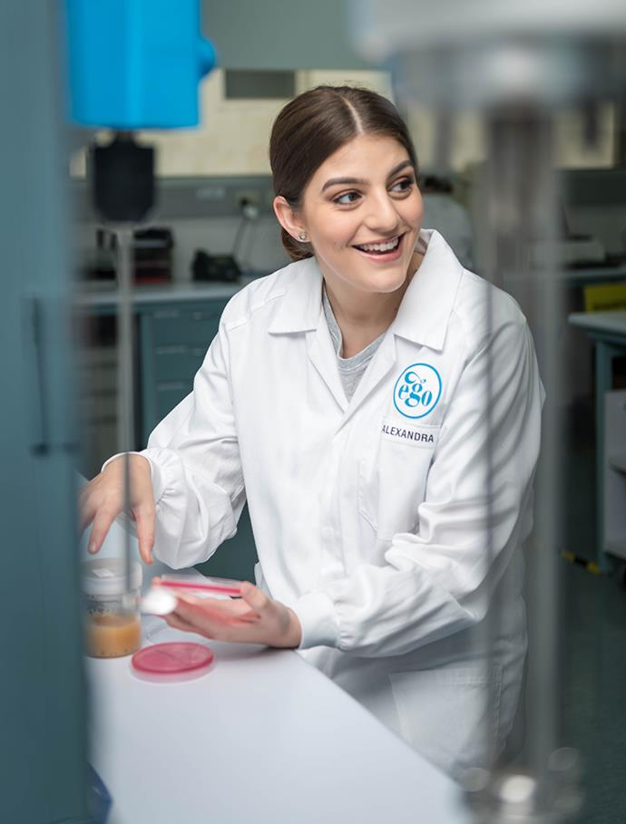 "Alexandra Kite, a microbiologist at Ego Pharmaceuticals, formulators of [Elucent Skincare](https://elucentskincare.com/|target=""_blank""