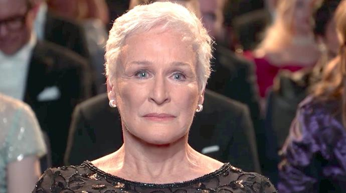 Glenn Close in The Wife. *(Image: Supplied)*
