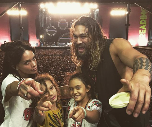 Everything about this family is cool, right? Here they are at a Red Hot Chili Peppers concert! *(Image: Instagram/PrideOfGypsies.)*