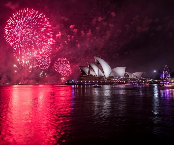 Want to watch the fireworks but don't want to leave the comfort of the Northern Beaches? Don't worry, you can still get a cracking view from **North Heath in Manly**. *(Image: Getty)*