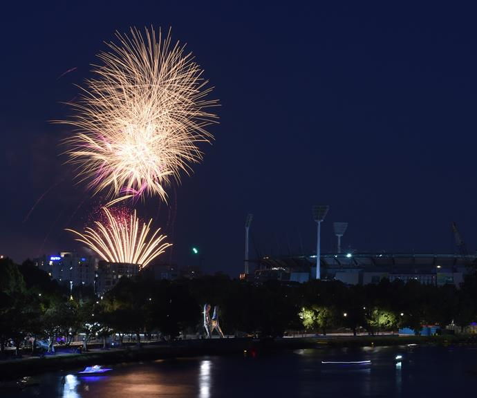 **Flagstaff Gardens** is another popular spot in the CBD with a fantastic view of the fireworks. *(Image: Getty)*