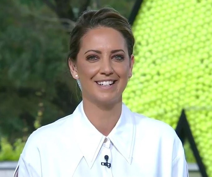 Brooke Boney shared her impassioned views on why we need to change the date of Australia Day. *(Image: Nine Network)*