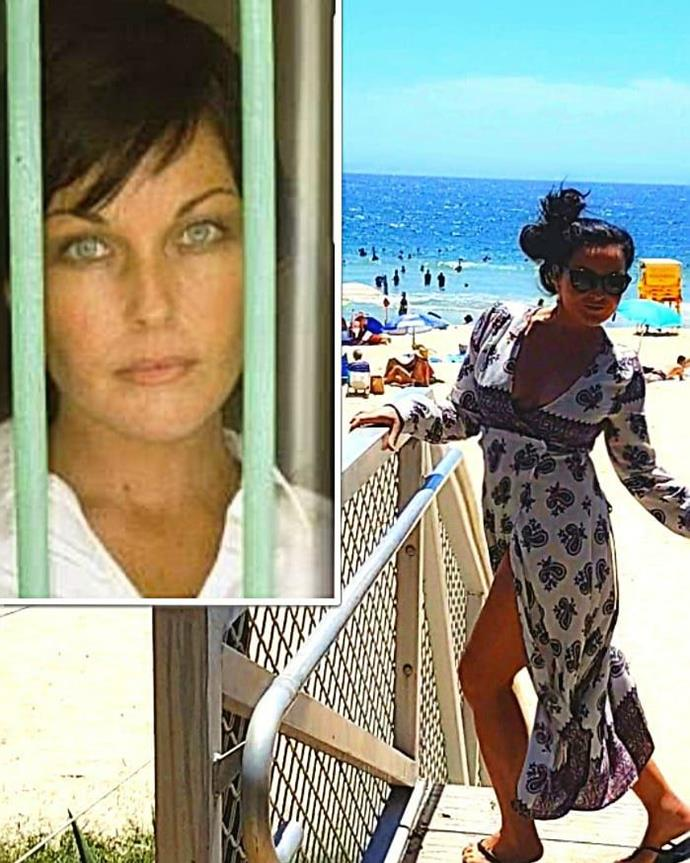 "Ok Schapelle Corby you win the award for biggest transformation. The former drug smuggler who spent nine years behind bars in a Balinese prison captioned her 10 Year Challenge snap, ""Been a rough-trot. Better now. 🙏 #turbulent #10yearchallenge #🙄."" *(Image: Instagram @schapelle.corby)*"