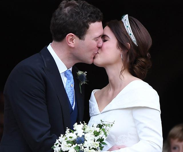 Princess Eugenie and Jack Brooksbank were married in October 2018. Will they be expecting a baby by the end of the year? *(Source: Getty)*