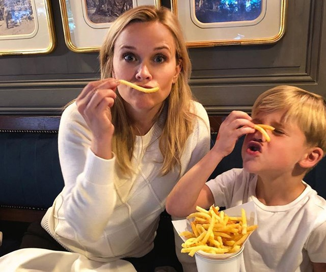 It's a delicious treat, but too much fast food is going to leave you feeling exhausted. *(Image: Instagram @reesewitherspoon)*