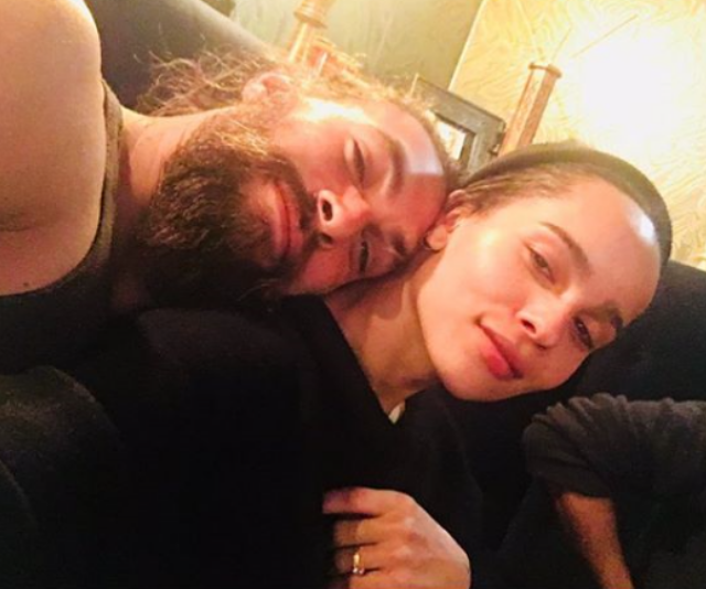 Jason Momoa and step-daughter, Zoe Kravitz share a beautiful bond. *Image: Instagram/zoeisabellakravitz*