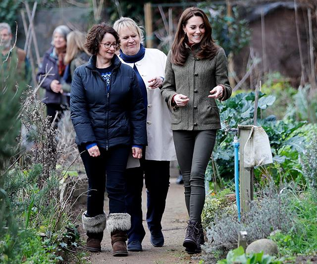 Kate has a well-known passion for gardening. *(Image: Getty)*