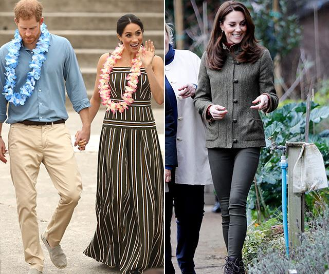 Even the royals are embracing the wellness trends of the 2010s. *(Images: Getty)*