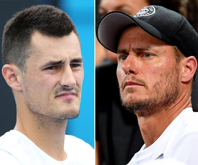 Bernard Tomic has allegedly threated Lleyton's family with blackmail. *(Source: Getty)*