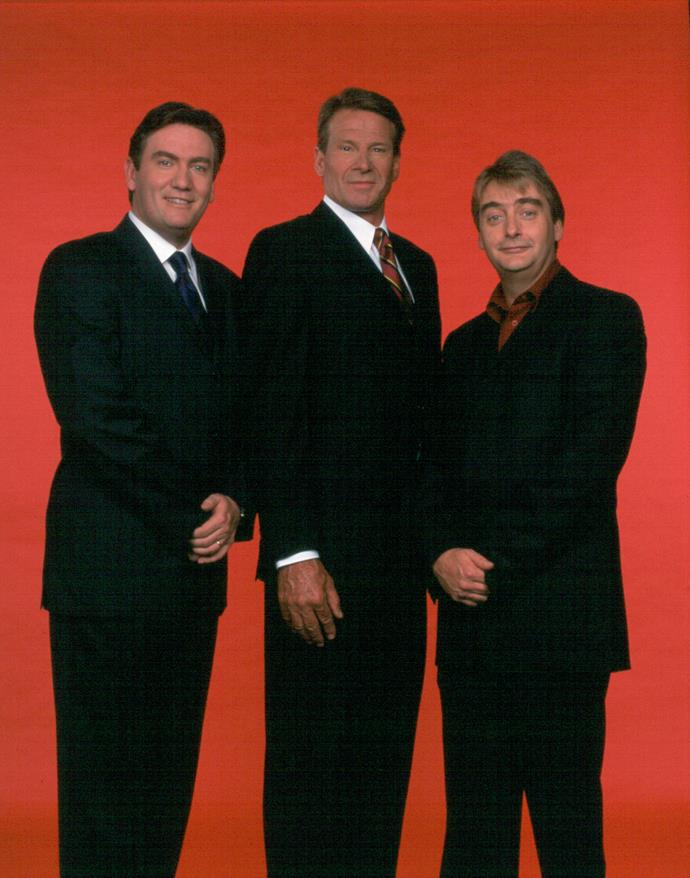 Sam (centre) would make a very interesting contestant!