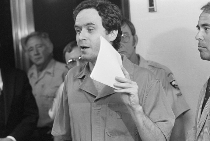 Ted Bundy defended himself during his trial. *(Source: Getty)*