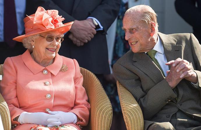 The Queen and Philip are never far apart. *(Image: Getty)*