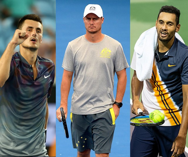 It's an on and off-court showdown for Australia's tennis bad boys. *(Images: Getty Images)*