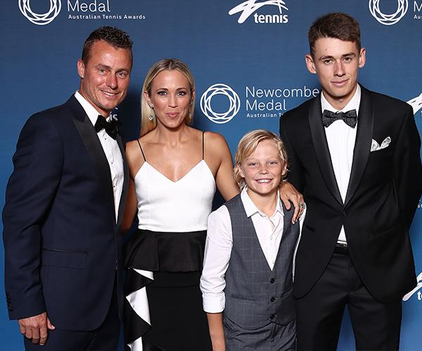 Lleyton is being accused of favouritism towards rising young stars including Alex De Minaur. *(Image: Getty Images)*