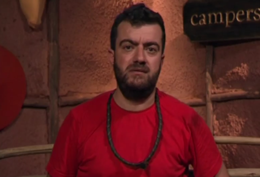 Sam got candid about his struggles on *I'm A Celebrity*. *(Image: Network Ten)*
