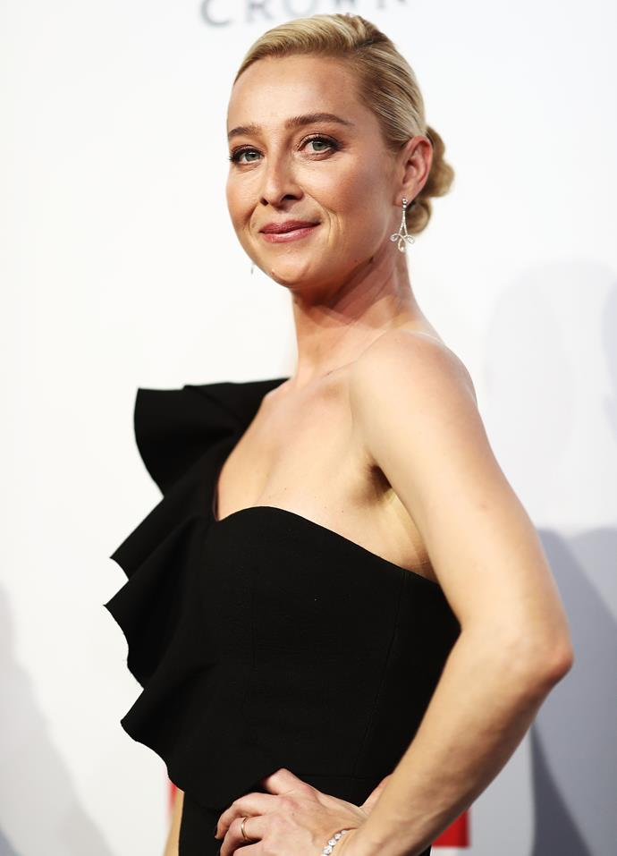 Asher Keddie will star with Richard Roxburgh in *The Hunting.*