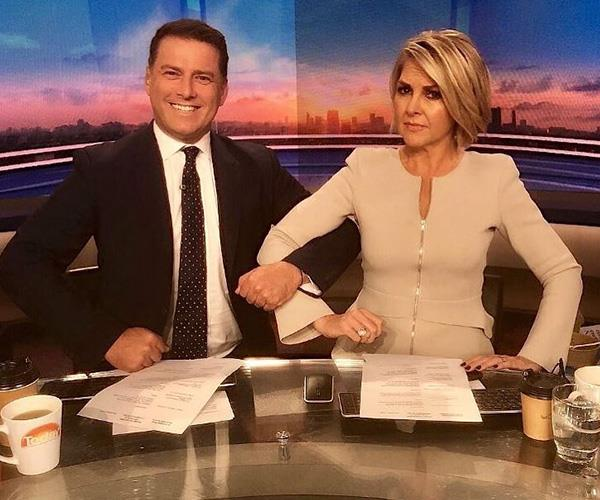 *Today*'s reputation was tarnished by Karl's antics. *(Image: Instagram @thetodayshow)*