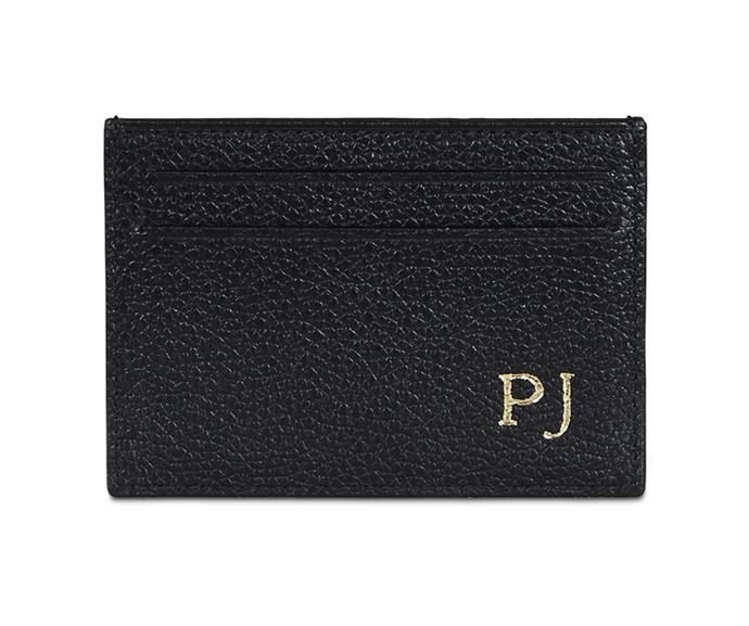 Monogrammed leather goods are so chic. *(Image: Mon Purse)*