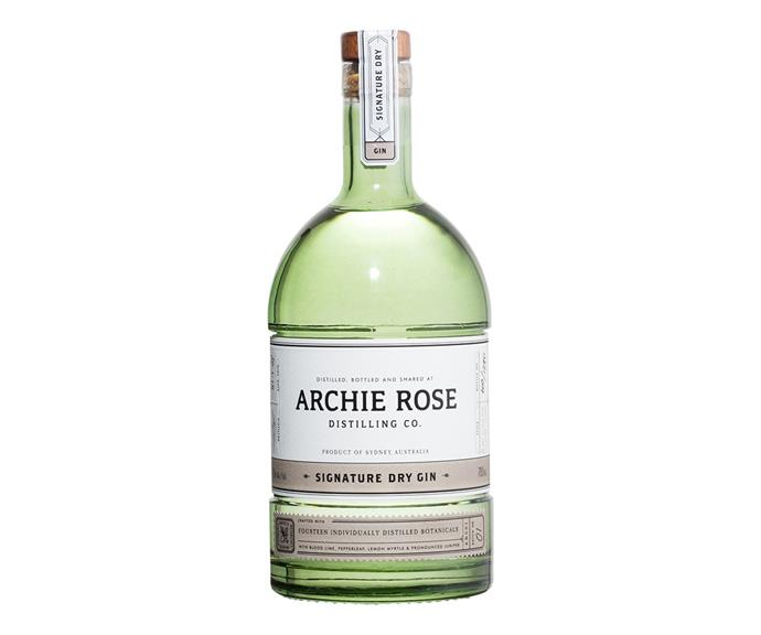 This gin is so delicious. *(Image: Archie Rose)*