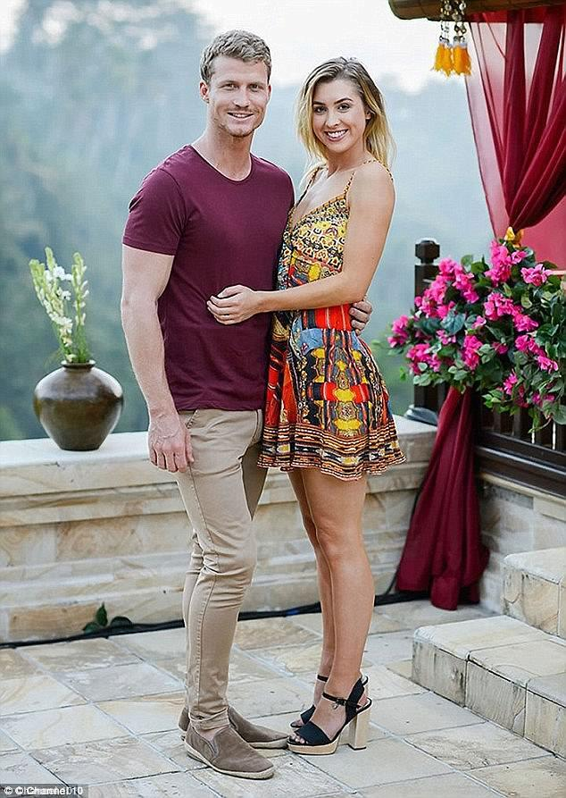 Alex Nation and Richie Strahan are rumoured to be back together. *(Source: Network Ten)*