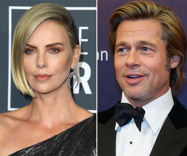 The pairing of Charlize Theron and Brad Pitt is a match made in heaven. *(Source: Getty)*
