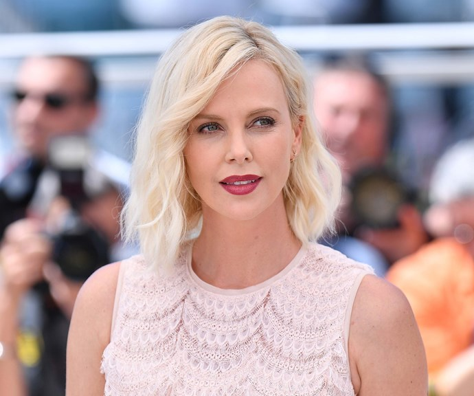 The South African/American, Charlize, at the Canne Film Festival in 2018. *(Source: Getty)*