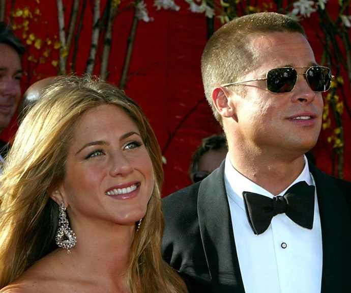 Brad and Jennifer Aniston were together for seven years. *(Source: Getty)*