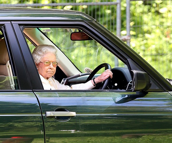 The Queen is the only person in Britain permitted to drive without a license. *(Image: Getty Images)*