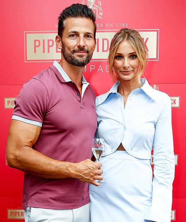 Newlyweds Tim Robards and Anna Heinrich bring the glamour. *(Image: Getty)*