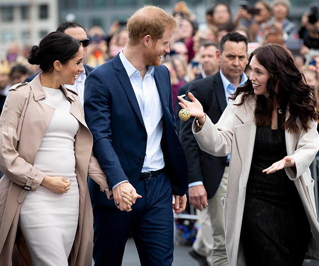 The two royals and Jacinda are all similar in age - and tastes! *(Image: Getty)*