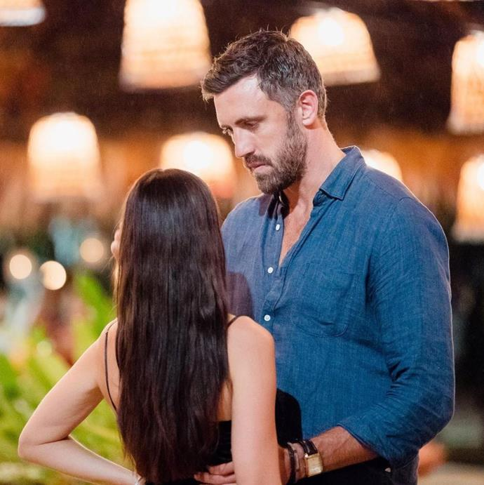 Luke and Lisa on the set of *Bachelor in Paradise* in 2018. *(Source: Instagram)*