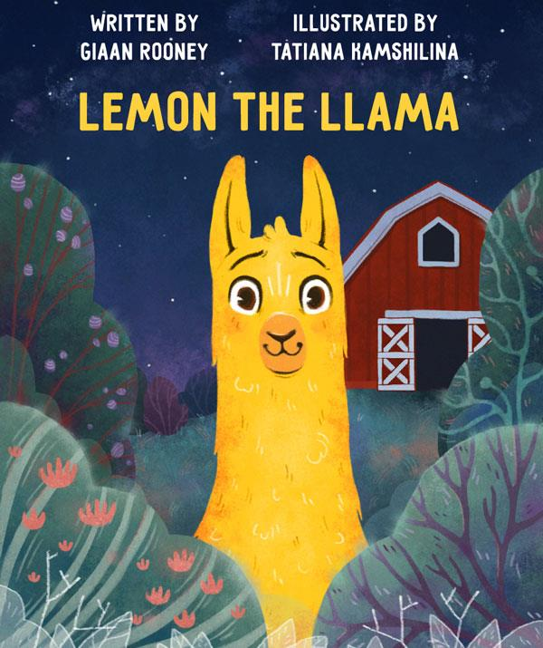 Giaan hopes her book *Lemon The Llama* will show readers that people are all different and that we have our own unique strengths and weaknesses. *(Image: Supplied)*