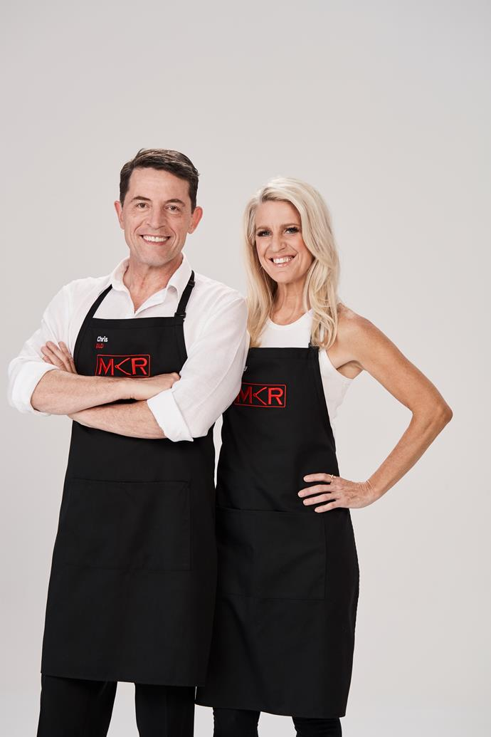 **CHRIS, 57, & LESLEY, 50, QLD**  **Flight attendants** <br><br> ***Who are your food inspirations?*** <br><br> Chris: Gordon Ramsay – I love it when he cooks without recipes. And Silvia Colloca. She's adorable. <br><br> Lesley: Luke Nguyen, Stephanie Alexander and Neil Perry. Neil's *The Food I Love* is a sharing book. He gives away his secrets more than others, who don't tell you the whole story. <br><br> ***Clue to their kitchen:*** Chris plans to showcase his Italian heritage cuisine.