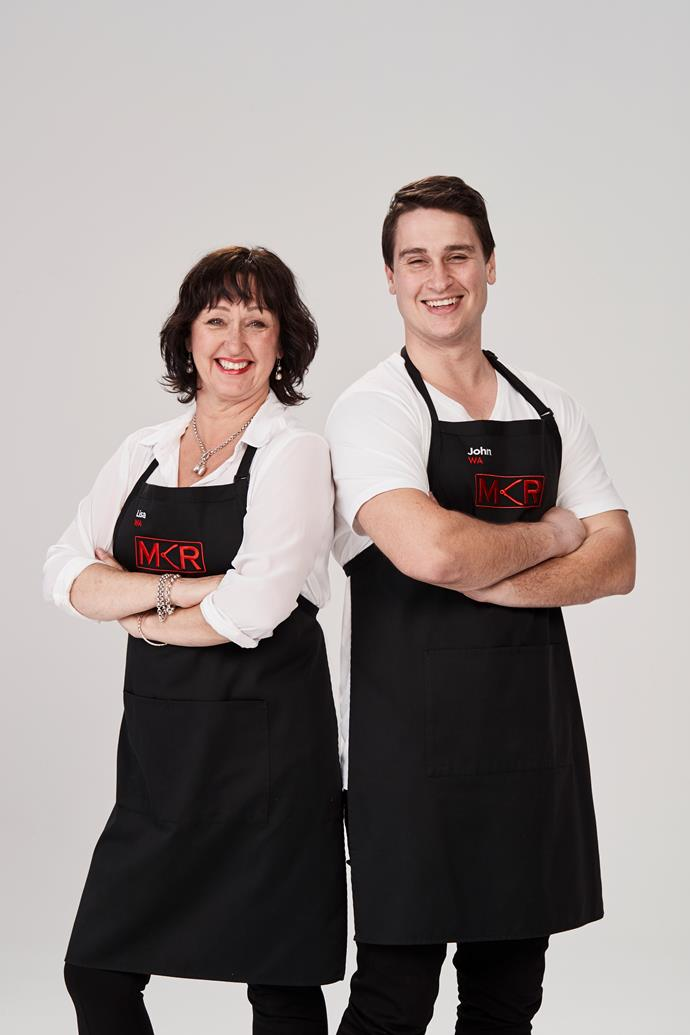 **LISA, 55, & JOHN, 29, WA**  **Mother and son** <br><br> ***What can guests expect at your instant restaurant?*** <br><br> John: Big meals, punchy flavours. We really do want everyone to feel like my house is your house. <br><br> Lisa: I want to put the party back into dinner party and give our guests some quality home cooking. <br><br> ***Clues to their kitchen:*** Lisa and John are all about yummy family food made with love.