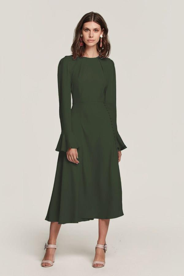 This is the Beulah London dress designed especially for Catherine. *(Image: Supplied)*