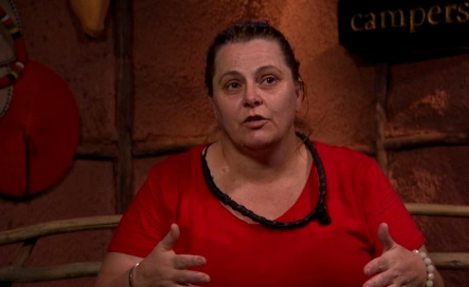 Ajay Rochester has become the first celebrity to be eliminated from the jungle. *(Image: Network Ten)*