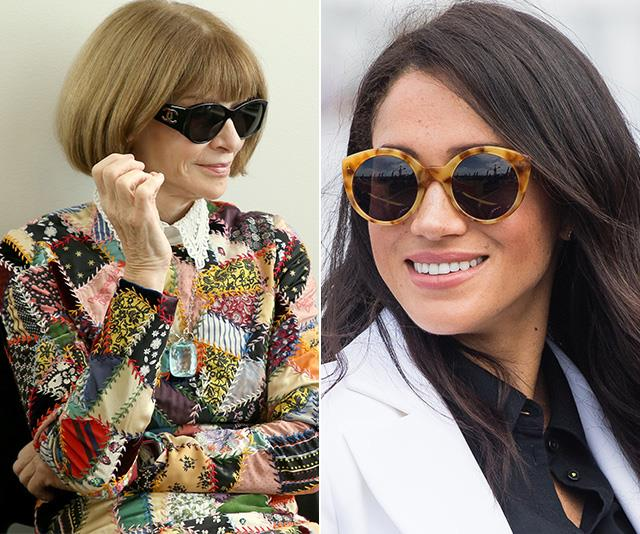 Style Queen Anna Wintour just shared her thoughts on the pregnant royal, and she didn't hold back. *(Images: Getty)*