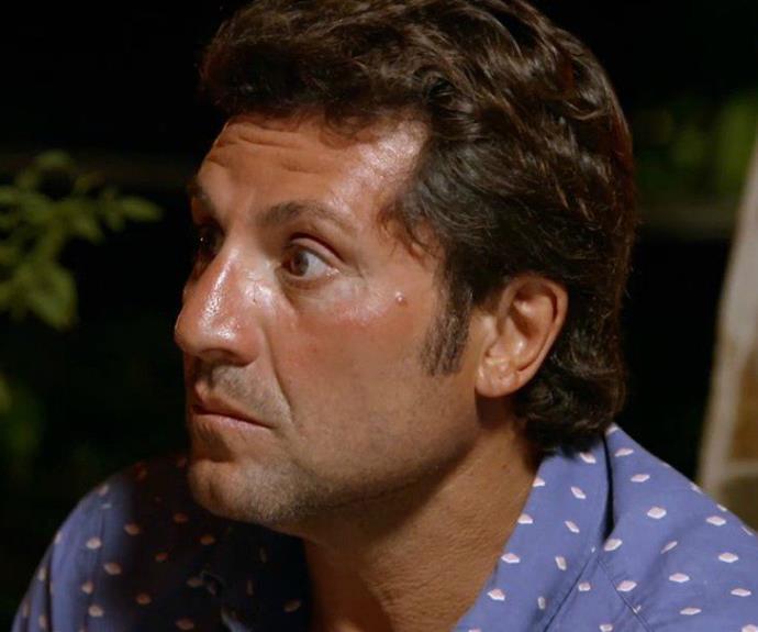 Nasser on the set of MAFS, season 5. *(Source: Channel 9)*