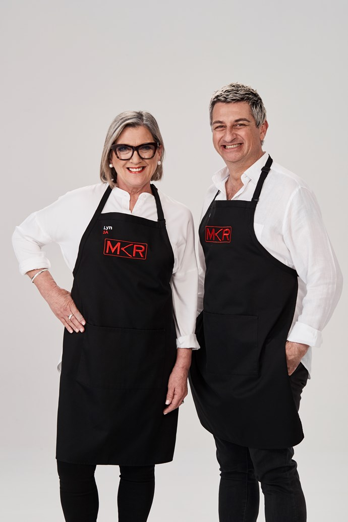 **LYN, 60, & SAL, 52, SA**  **Fabulous Friends** <br><br> ***What does your team bring to the competition?*** <br><br> Lyn: We're going to bring fun and energy to the competition. <br><br> ***Clue to their kitchen:*** The team are hoping to put their home, fishing town Port Pirie, on the map.