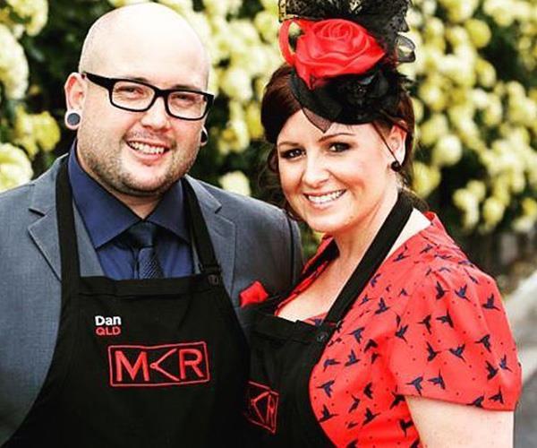 Eventual winners Dan and Steph at the Melbourne Cup challenge in season four. *(Image: Instagram @danandsteph13)*