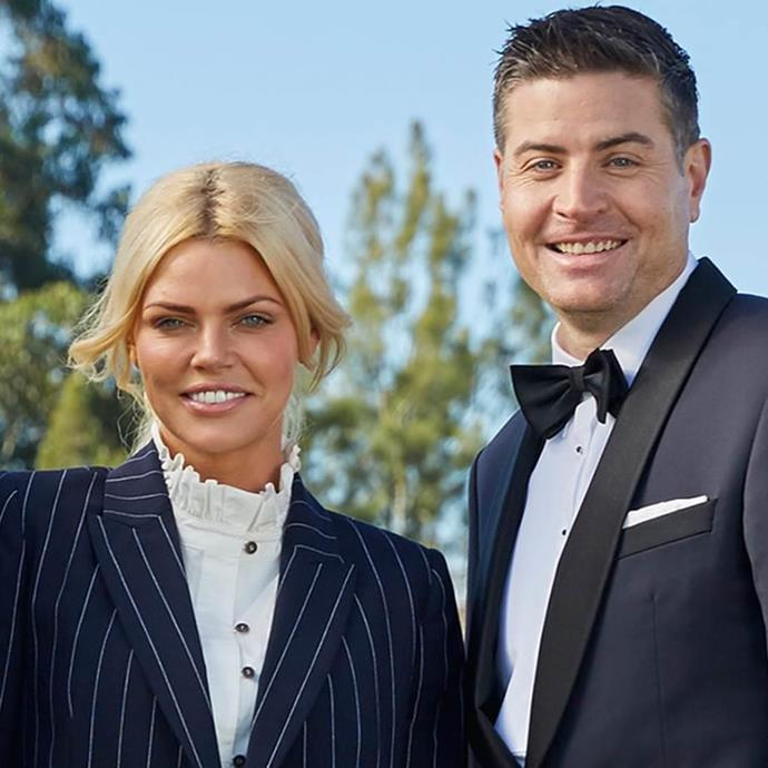 Sophie's last relationship before Josh was with billionaire playboy Stu Laundy, who she met on *The Bachelorette* in 2017. *(Image: Network Ten)*