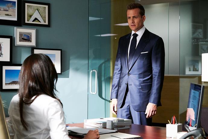 Gabriel Macht (Harvey Specter) leads the cast of *Suits.*