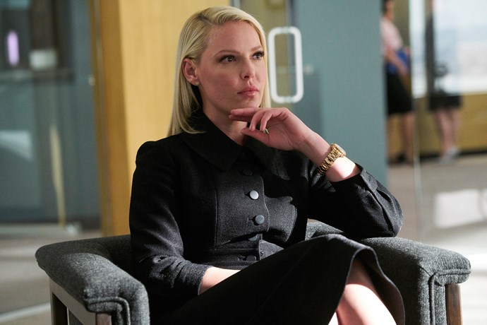 Katherine Heigl joined the cast of *Suits* in 2018.