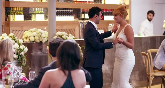 Cam and Jules melting our hearts! *(Source: Channel 9)*