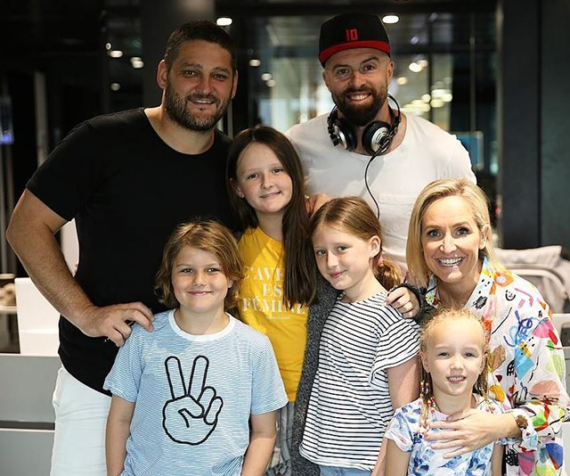 The Fox FM family celebrated Bring Your Kids To Work Day. *(Image: Instagram @fififevbyron)*